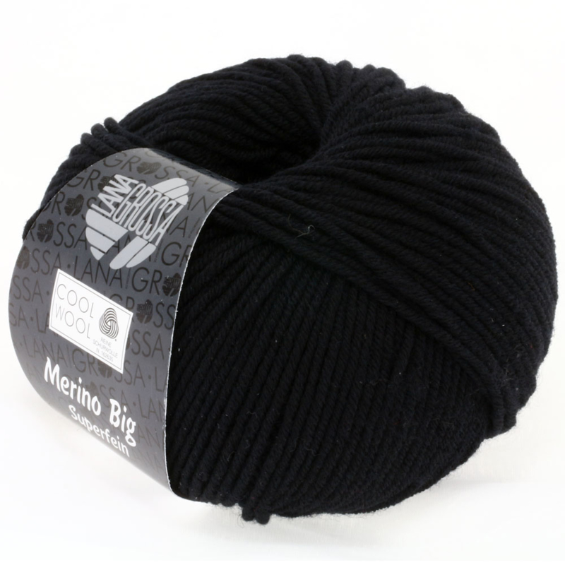 Cool Wool Big 627 Zwart