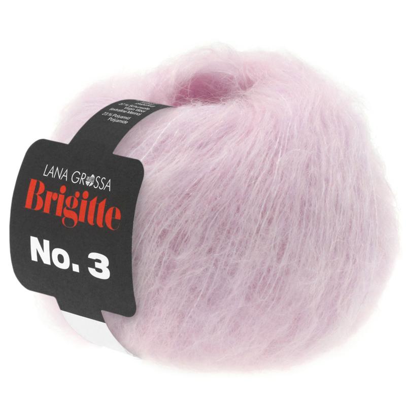 Brigitte Nr.3  Zacht lila/roze 007 Levertijd 1 week
