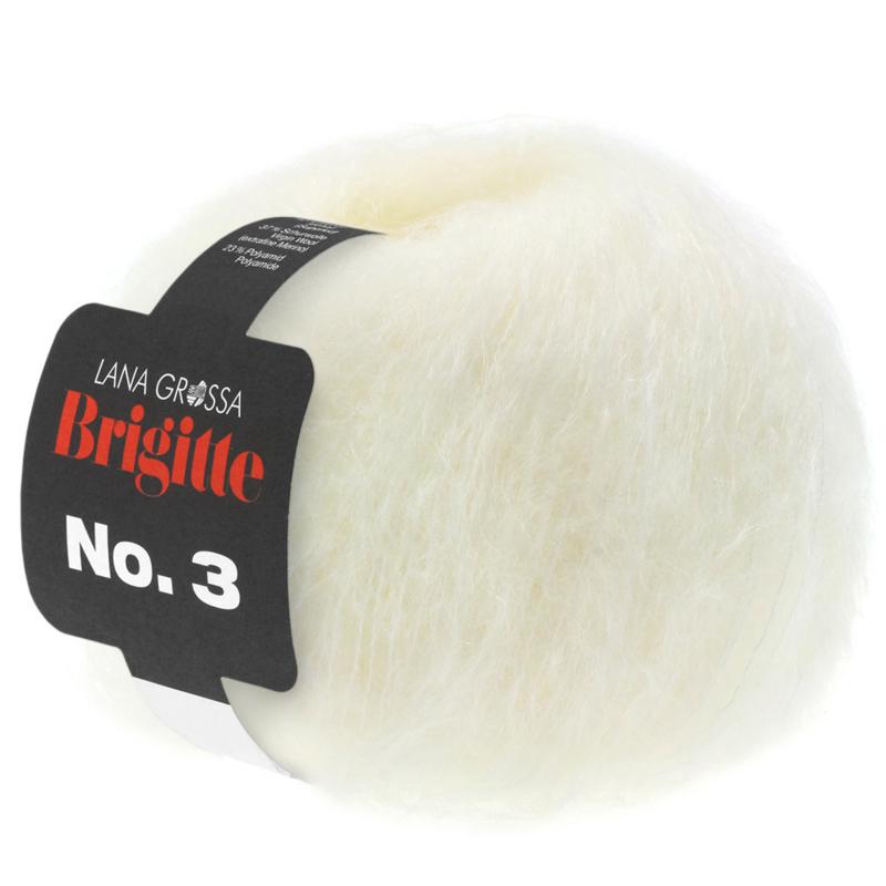 Brigitte Nr.3  Ecru 020