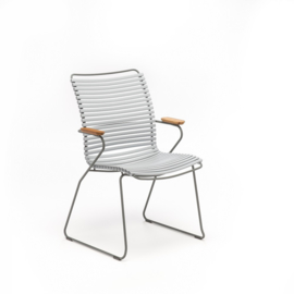 Houe click dining chair high back, gray (39)