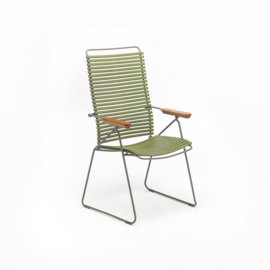Houe click positioning chair  olive green (71)