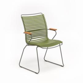 Houe click dining chair, tall back, div. kleuren