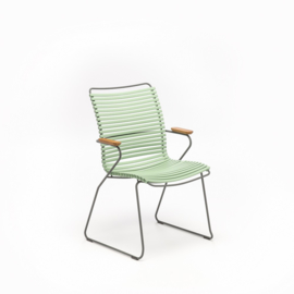 Houe click dining chair high back, dusty green (76)
