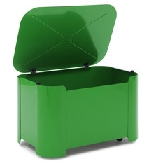 Tolix Turtle Box groen, RAL 9003