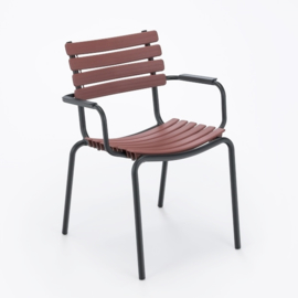 Clips dining chair paprika