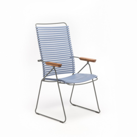 Houe click positioning chair  pigeon blue (82)
