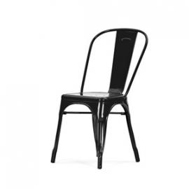 Tolix A stoel zwart