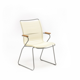 Houe click dining chair high back, white (22)