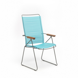 Houe click positioning chair  turquoise (78)