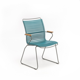 Houe click dining chair high back, petrol (77)