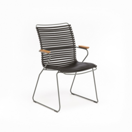 Houe click dining chair, tall back, div. kleuren