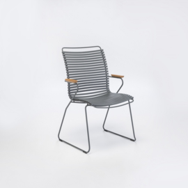 Houe click dining chair high back, dark gray (70)