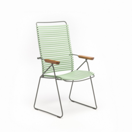 Houe click positioning chair  dusty green (76)