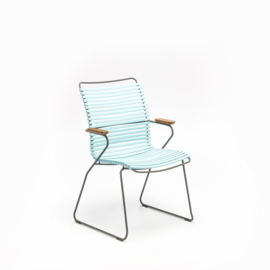 Houe click dining chair high back, mint (79)