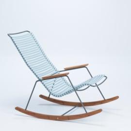 Houe rocking chair dusty light blue (80)
