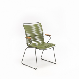 Houe click dining chair high back, olive green (71)