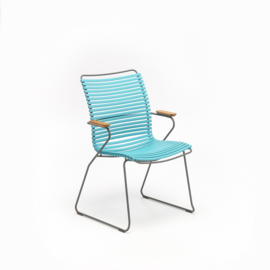 Houe click dining chair high back, turquoise (78)