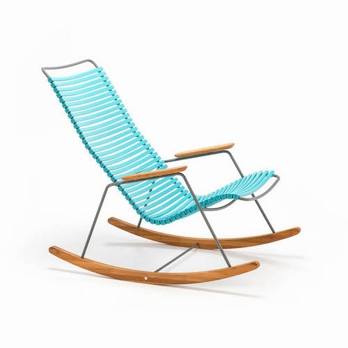 Houe rocking chair Turquoise (78)