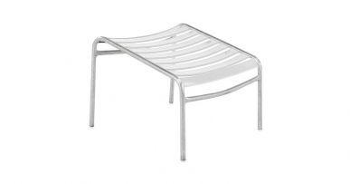 Schaffner Säntis lounge chair footstool white