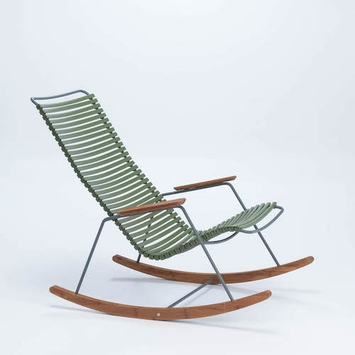 Houe rocking chair Olive Green (71)