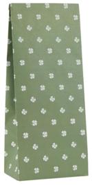 Ib Laursen blokbodemzak | Clover Green | 28,5 cm | per stuk