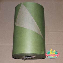 Kraft inpakpapier | Olijfgroen | dubbelzijdig | 1 mtr x 30 cm