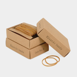 East of India | Elastiekjes in een gift box | 69 stuks elastic bands