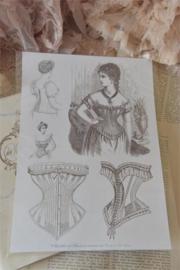 Jeanne d'Arc Living | A4 sheet | Sheet with brocante motifs