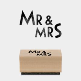 East of India stempel | Mr & Mrs | Langwerpig