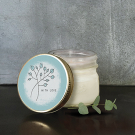 East of India | Soy jar candle | With Love | Vanille
