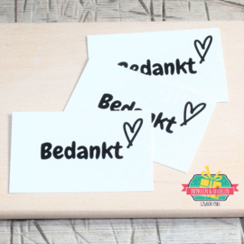 ► Mini kaartjes