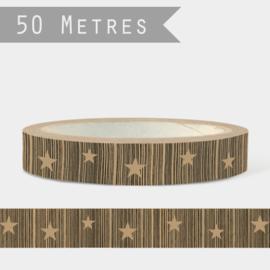 East of India tape | Sterren | 50 meter x 2,5 cm