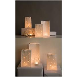 Candle Bags groot | Hotfoil | set van 5 stuks