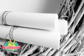Rolletje wit kraft inpakpapier | 3 mtr x 30 cm