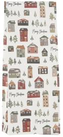 Ib Laursen blokbodemzak | Christmas Village | 30,5 cm | per stuk
