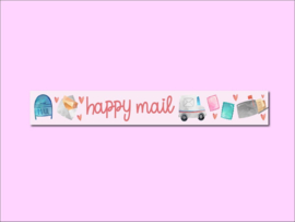 Only Happy Things washi tape | Happy Mail | 10 mtr x 1,5 cm