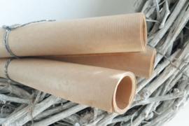 Rolletje bruin kraft inpakpapier | 3 mtr x 30 cm