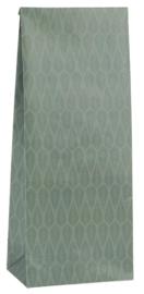 Ib Laursen blokbodemzak | Green Tapestry | 30,5 cm | per stuk