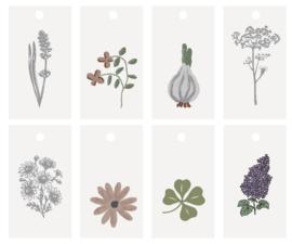 Ib Laursen blokbodemzak | Let It Grow | 30,5 cm | per stuk