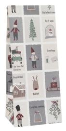 Ib Laursen blokbodemzak | Christmas | 28,5 cm | per stuk