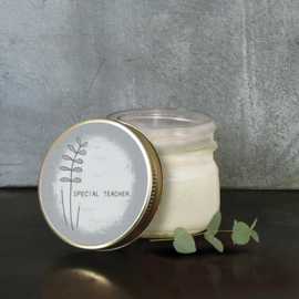 East of India | Soy jar candle | Special Teacher | Vanille