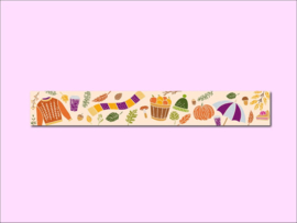 Only Happy Things washi tape | Fall | 10 mtr x 1,5 cm