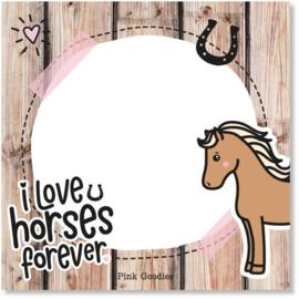 By Romi | Love Horses | Memoblok