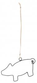 IB Laursen hanger | Varken open | per stuk
