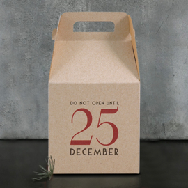 East of India gift box | Do not open until 25th december | per stuk
