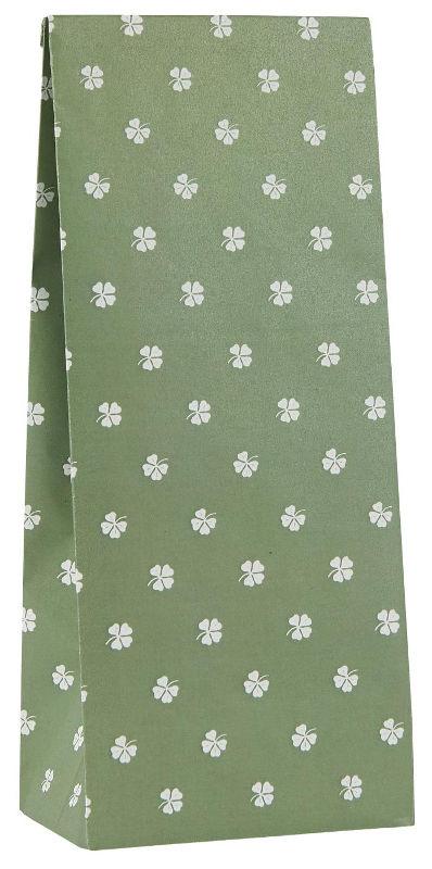 Ib Laursen blokbodemzak | Clover Green |  22,5 cm | per stuk