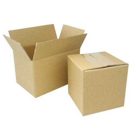 Kartonnen vouwdoos | enkelgolf | 30 x 25 x 20 cm | per 5 stuks
