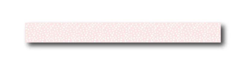 winkeltjevananne masking tape   Roze met witte stipjes   10 mtr x 1,5 cm