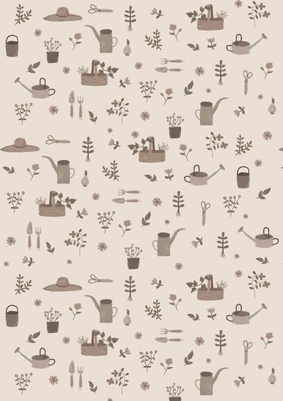 Ib Laursen inpakpapier | Let It Grow | 5 mtr x 50 cm
