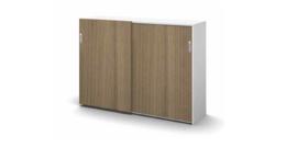 Houtdecor deuren Stalen achterwand 122x160x49 cm SV160X1-122HS sound and vision